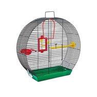 №1 Клетка для птиц мини №1 30х14х32см РПК32 Kormberi.ru магазин товаров для ваших животных