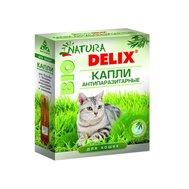 """Вака *Капли на холку """"DELIX NATURA BIO"""" д/кошек 2флак * 0,75мл (1/40) (На основе природных компонен.) Kormberi.ru магазин товаров для ваших животных"""