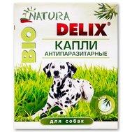 """Вака *Капли на холку """"DELIX NATURA BIO"""" д/собак 3 флак. * 1мл (1/40) (На основе природн. компонен.) Kormberi.ru магазин товаров для ваших животных"""