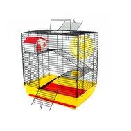 №1 №1 Клетка д/грызуна 41х30х45см, 2 этажа, в комплекте домик, колесо, миска РПК10 Kormberi.ru магазин товаров для ваших животных