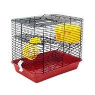 №1 №1 Клетка д/грызуна 38х26х30 см, с этажом, укомплектованная РПК12 Kormberi.ru магазин товаров для ваших животных