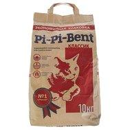 """Pi Pi Bent Наполнитель """"Pi Pi Bent"""" Классик(10кг) д/к комкующийся 24 л крафт-пакет (уп2шт) Kormberi.ru магазин товаров для ваших животных"""