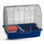 Вака Клетка ВАКА д/грызунов полукруглая большая с домиком 385*275*320 Kormberi.ru магазин товаров для ваших животных
