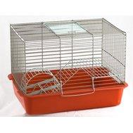 Вака Клетка ВАКА д/грызунов с лесенкой и колесом. 385*275*265 Kormberi.ru магазин товаров для ваших животных