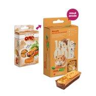 Little One Little One Бисквиты (5*7г) д/хомяков, крыс, мышей и песчанок с Морковью (8шт) Kormberi.ru магазин товаров для ваших животных