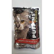 PUFFINS Puffins picnic (85г) д/к желе Говядина (уп26) Kormberi.ru магазин товаров для ваших животных