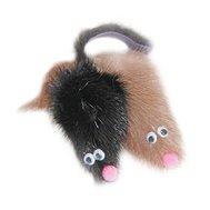 """DOGMAN Игрушка """"Мышь норка M"""" 5 см нат.норка Kormberi.ru магазин товаров для ваших животных"""