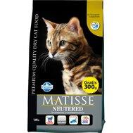 MATISSE (10кг) д/к  стерилиз. Neutered Kormberi.ru магазин товаров для ваших животных