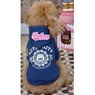 Dobaz Толстовка, с длинным рукавом и капюшоном, синяя, размер L ДА1242СЛ Kormberi.ru магазин товаров для ваших животных