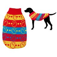 УЮТ УЮТ Свитер желто-красно-синий Пакмэн 30 см М НМ1807М Kormberi.ru магазин товаров для ваших животных