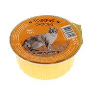 Кошачье счастье КОШАЧЬЕ СЧАСТЬЕ (125г) д/к (л) Цыпленок (уп16) Kormberi.ru магазин товаров для ваших животных