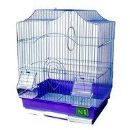 №1 Клетка №1 - ДКПА412 фигурная для птиц Kormberi.ru магазин товаров для ваших животных