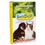 Биофлор БиоФлор ошейник п/б д/кошек 35см (1/20) Kormberi.ru магазин товаров для ваших животных