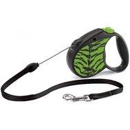 Flexi Флекси 5 м 12 кг Safari cord S зелёный Тигр (green Tiger) рулетка-Трос Kormberi.ru магазин товаров для ваших животных