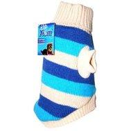 УЮТ Свитер серо-голубой полосатый  20см XC НМ1XC Kormberi.ru магазин товаров для ваших животных