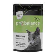 ProBalance ProBalanse пауч для кошек чувствительное пищеварение в соусе 85 гр Kormberi.ru магазин товаров для ваших животных