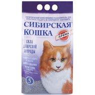 Сибирская кошка СИБИРСКАЯ КОШКА наполн.  5л ПРИМА (комкующийся) Kormberi.ru магазин товаров для ваших животных