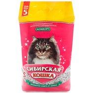 Сибирская кошка СИБИРСКАЯ КОШКА наполн.  5л КОМФОРТ(впитывающий) (уп4) Kormberi.ru магазин товаров для ваших животных
