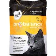 ProBalance ProBalanse пауч для кошек в соусе Кролик  85 гр Kormberi.ru магазин товаров для ваших животных