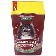 Сибирская кошка СИБИРСКАЯ КОШКА наполн.  5л УНИВЕРСАЛ (впитывающий) (уп4) Kormberi.ru магазин товаров для ваших животных